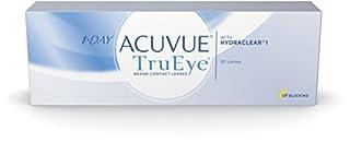 Acuvue 1-Day TruEye Tageslinsen weich, 30 Stück / BC 8.5 mm / DIA 14.2 / -2.25 Dioptrien (B00366O8GC) | Amazon Products
