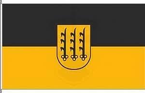 Bannerflagge Crailsheim - 120 x 300cm - Flagge und Banner