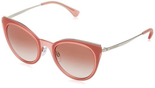 Emporio Armani Damen 0ea2063 321613 52 Sonnenbrille, Grau (Silver),