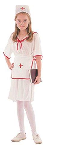 Kostüm Infirmiere - Déguisement enfant Fille Infirmière Taille 7-10 ans