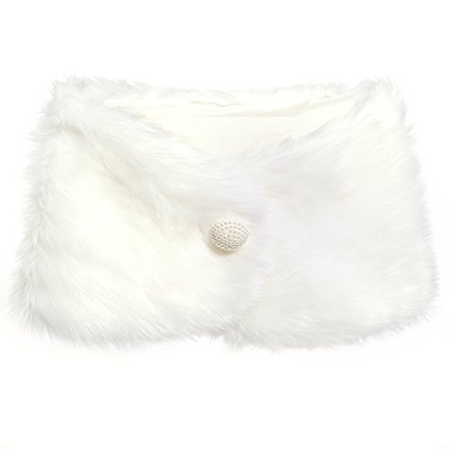 Peluche bianco pelliccia sintetica donne sposa corpetto bolero giacche da sposa scialli