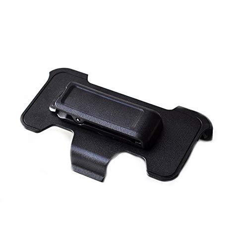 lujiaoshout Ersatz-Gürtelclip Gürtelclip für Otterbox Defender Case passt Apple iPhone 5 5S mit Seitenständer Schwarz - Apple Iphone Holster