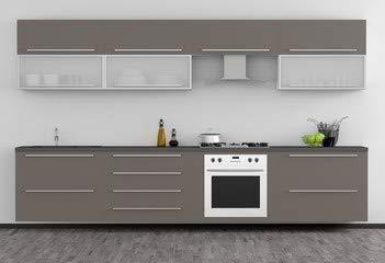 """Alu-Dibond-Bild 60 x 40 cm: \""""Moderne Küchenmöbel\"""", Bild auf Alu-Dibond"""