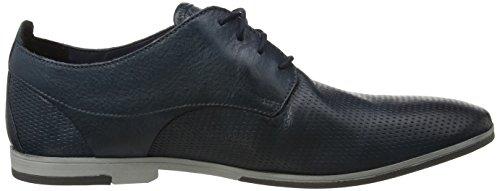 Clarks Otoro Walk, Derby Homme Bleu (Navy Leather)