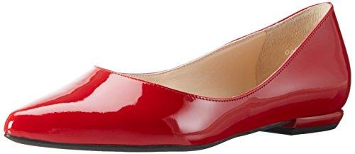 Högl Damen 3-18 0004 4000 Geschlossene Ballerinas, Rot (red4000), 34.5 EU (Stiefel Keil Schuhe Und)