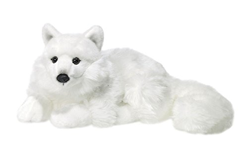 wwf-plusch-kollektion-wwf16981-pluschfigur-polarfuchs-liegend-25-cm-pluschtiere