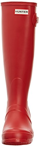 Hunter Original Tall, Bottes femme Rouge (hunter Red)