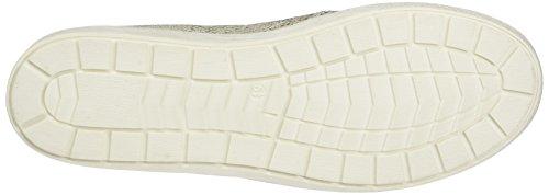 Caprice 24662, Mocassins Femme Blanc (White Reptile)