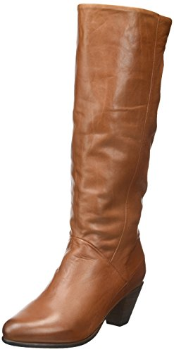 PastelleNina - Stivali classici al ginocchio Donna , marrone (Marrone (Cammello )), 41 EU