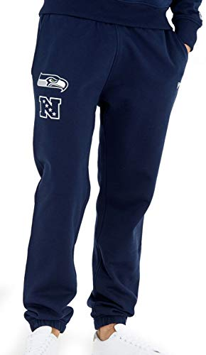 New Era - NFL Seattle Seahawks Team Apparel Jogginghose - Blau Größe S, Farbe Blau (Flag Football Hose)