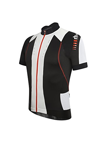 zero rh++ Herren Fahrradtriko Phantom Jersey FZ, Black/Red, XL, ECU0245903XL