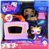 Littlest Petshop #932 & #933 Sassiest Portable Pets Gift Set - Pet Littlest Shop-pet-sets