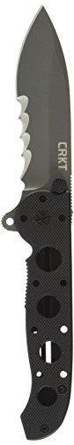 Columbia River Knife & Tool Uni Crkt M21–12 G Serrated Couteau de Poche Noir, M