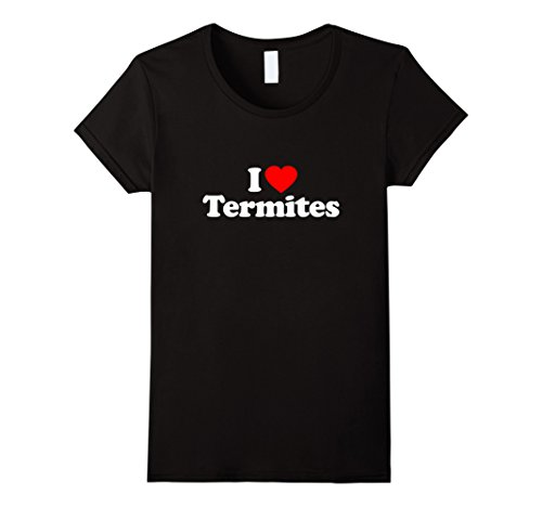 womens-i-love-heart-termites-funny-t-shirt-xl-black