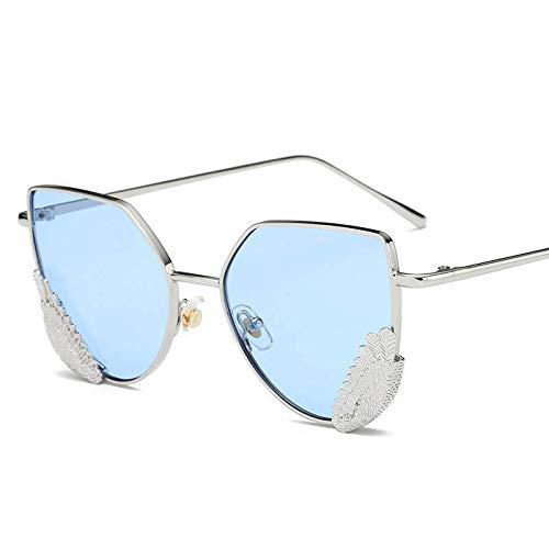 YUHANGH EinzigartigeUnisex-Sonnenbrille Cat Eye LuxuryAngel Wings Elegante Damen Sonnenbrille Männer Brille