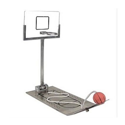 Eshowy Creative Funny Desktop Miniature Basketball Game Toy - Christmas Day Gift Fun Sports Novelty Toy or Gag Gift Idea