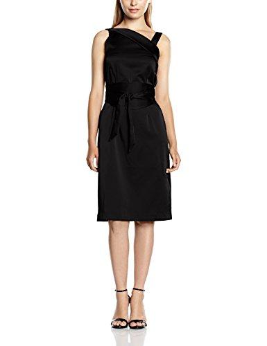 HotSquash Silky Obi Belt - Robe - Femme Noir - Black (Silk Black)