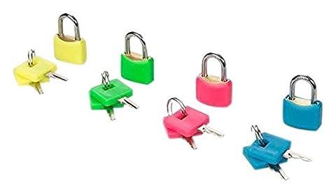 Silverline 282715 Ensemble de 4 cadenas en laiton fluos 23 mm