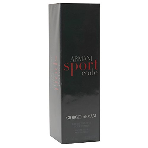 ARMANI BLACK CODE SPORT EDT 125ML