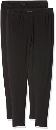 new-look-curves-two-pack-leggings-para-mujer-negro-50-eu-22-l32-uk-