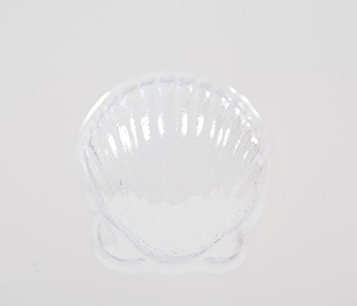 Moule pour savon/boules de bain forme coquille Saint Jacque 8 cavités