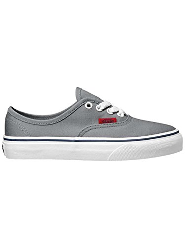 Vans K Authentic, Baskets mode mixte enfant Frat Gry/Chili Pppr