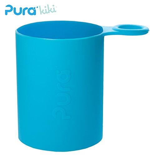 Pura Kiki - Sport Silikonüberzug (Sleeve) - 500ml/800ml Pura Farbe Blau