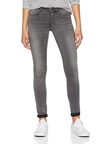 ONLY NOS Damen Skinny Onlroyal Reg SK Dnm Jeans BJ312 Noos, Grau (Dark Grey Denim), W30/L32 (Herstellergröße: L)
