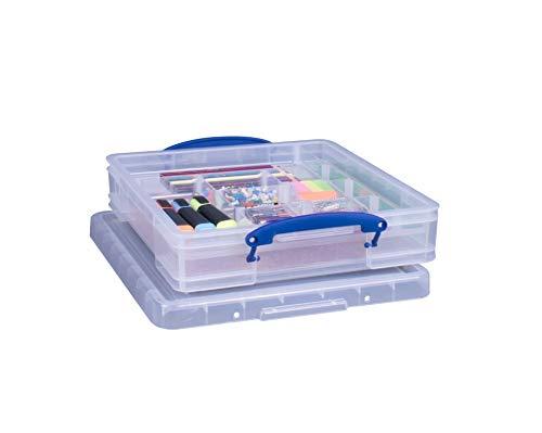 trasparente Really Useful XL 5/litri cancelleria scatola colore