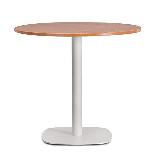 BinLZ-Table Moderner Konferenztisch Kaffeerundtisch Verhandlungstisch Empfangstisch Massivholz, 1, 65 * 72 cm