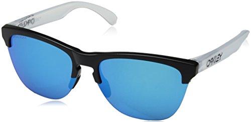 Oakley Herren Frogskins Lite 937402 Sonnenbrille, Braun (Matte Black), 63