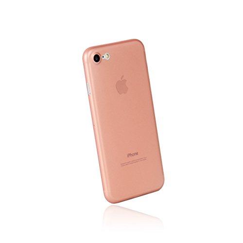 hardwrk Ultra-Slim Case für Apple iPhone 7 und 8 - roségold - ultradünne Schutzhülle Handyhülle Cover Hülle rosé Gold - Unterstützt kabelloses Laden - Qi - Wireless Charging
