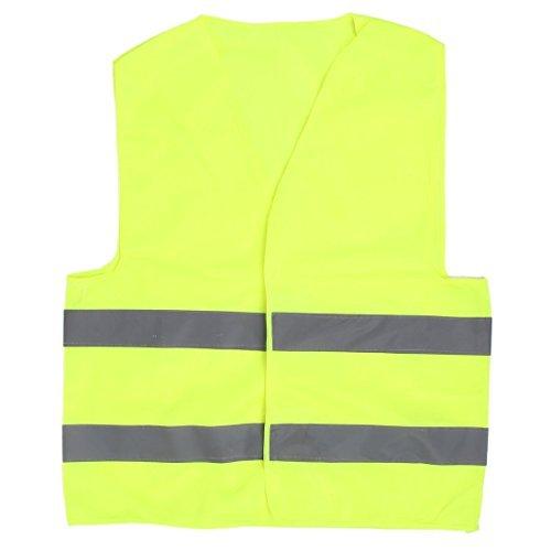 Reflecterende Traffic Safety Safety Vest Groen 66cm x 56cm - Traffic Safety Vest