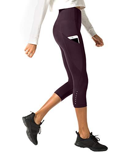 LAPASA Pantalón Deportivo Mujer Cintura Alta Bolsillo
