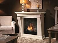 British Fire Fireplaces Kreta Mini Suite bioethanol Fireplace BKRM5820MFL