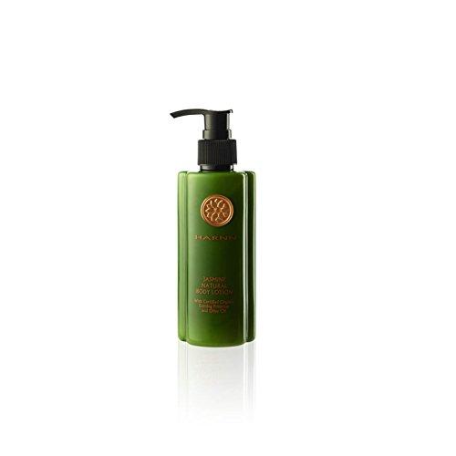 HARNN NATURAL BODY LOTION - JASMINE, natürliche Körperlotion mit ätherischen Ölen der Sambac Jasminblüte, 230ml. -