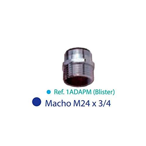 Adaptateur robinet 3/4'' à raccord rapide pour robinet avec filetage mâle de 24 mm