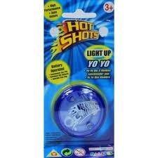 X2 Hot Shots Light Up Yo Yo Toys Auto Return Ages 3+ *BRAND NEW*