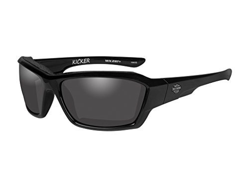 Harley-Davidson Wiley X Kicker Smoke Grey Motorrad Brille