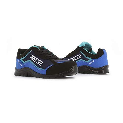Imagen de Zapatillas de Seguridad Para Hombre Sparco por menos de 85 euros.