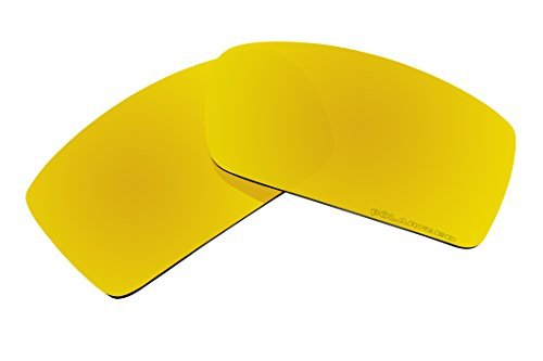 BVANQ Polarized Sunglasses Lenses Replacement for Oakley Gascan Sunglasses (Gold Coatings) by BVANQ