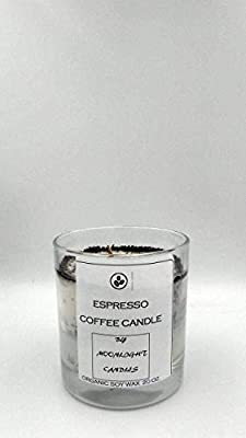 Soy Wax Espresso Coffee Scented Candle