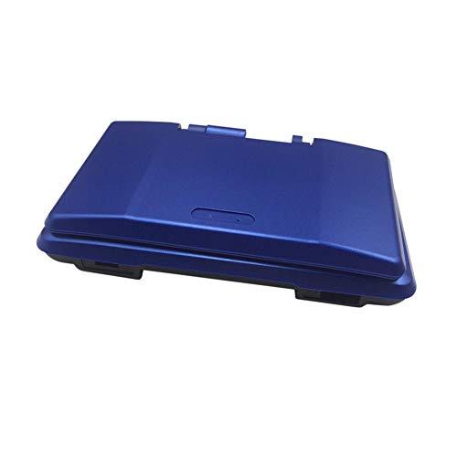 Haodasi Ersatz Front Zurück Case Shell Cover Gehäuse mit Taste Schrauben Bildschirm Aufkleber Eingabestift für Nintendo DS Spiel Konsole (Blau)
