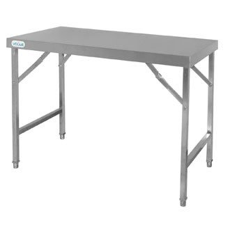 Vogue Cb906 Table pliante en acier inoxydable