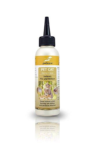 Pilz und Milben bei der Katze - Juckreiz durch Pilzbefall und Milbenbefall - petCat Protect 3010