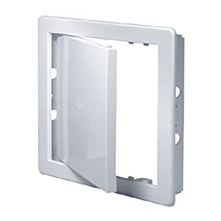 Access Panel 200x300mm (8x12inch) White High Quality ABS Plastic by Awenta