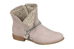Rieker Y2556 Damen Sommer Stiefeletten , Schuhgröße:38;Farbe:Rosa