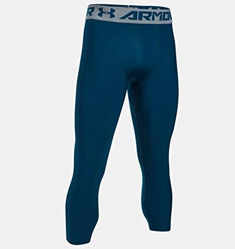 Unter Rüstung Athletic Leggings (UnderArmour Hg Armour 2.0 3/4 Legging - blackout navy, Größe #:3XL)