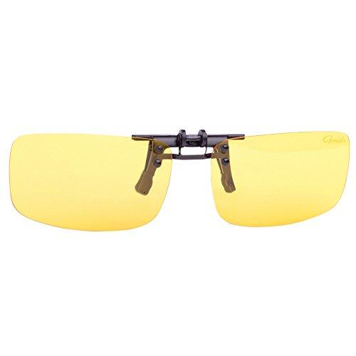 GamakatsuG-Glasses Polarisierender Brillenaufstecker Light Amber