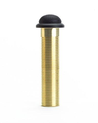 Shure mx395b-o microflex basso profilo microfono condensatore, colore: nero, omnidirezionale, 3-pin XLR